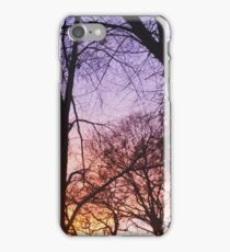 purple sun iPhone Case/Skin