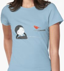 lil girl and red birdy as a tee T-Shirt