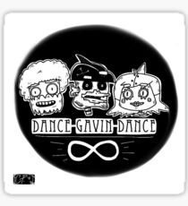 Young Robot Squad! DGD fan art Sticker