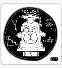 Evil Dog! DGD fan art Sticker