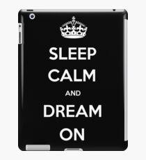 Sleep calm iPad Case/Skin