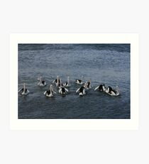 Group Formation Art Print