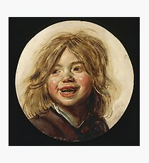Frans Hals - Laughing Child 1620 Photographic Print