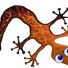 Lovely Gecko by Juhan Rodrik