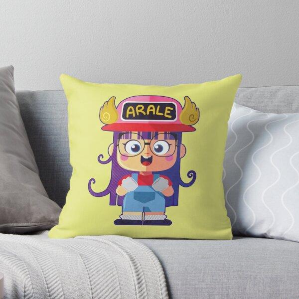 Arale Throw Pillow
