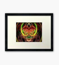 Clown. Framed Print