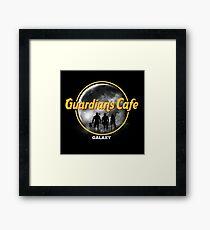 Guardians cafe galaxy Framed Print