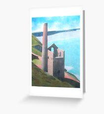 Wheal Coats Tin Mine, Cornwall Greeting Card