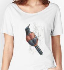 Mr Tieke, New Zealand Saddleback Women's Relaxed Fit T-Shirt