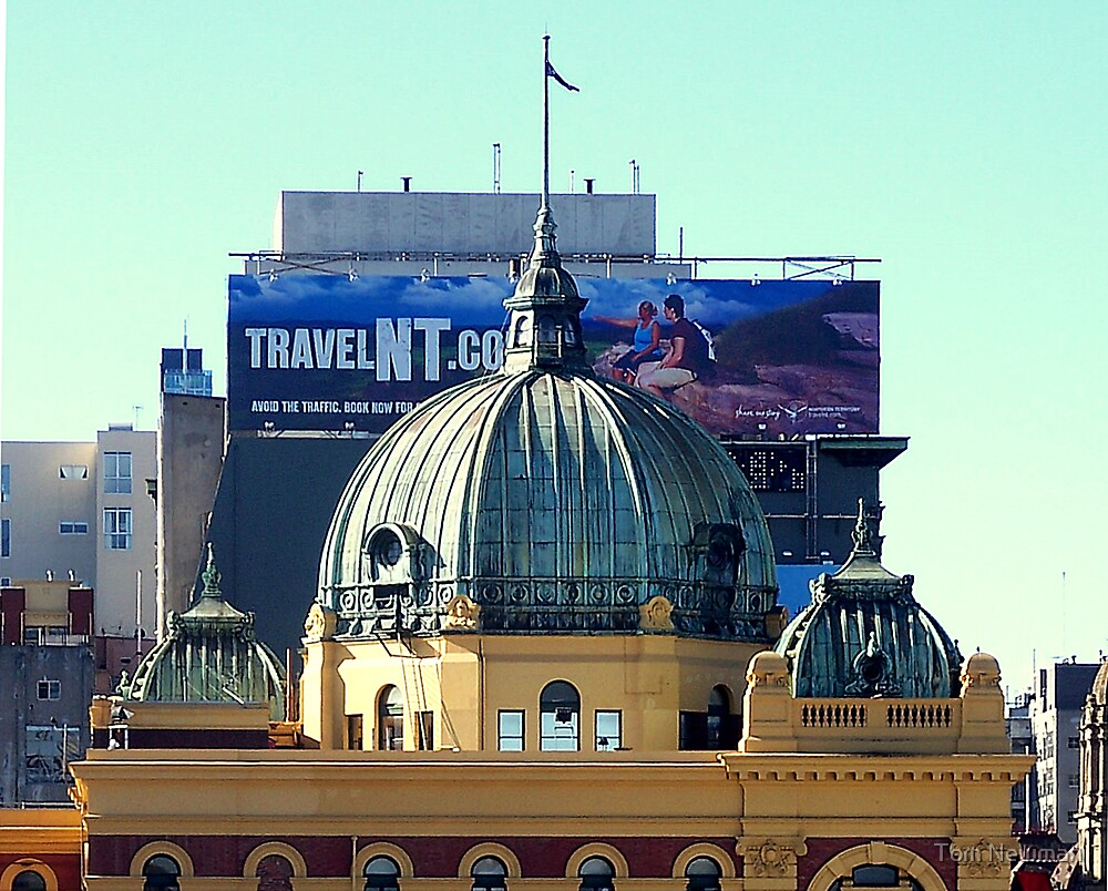 Flinders Street Station Dome  by Tom Newman