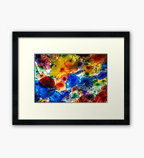 Amazing Chihuly Glass Framed Print