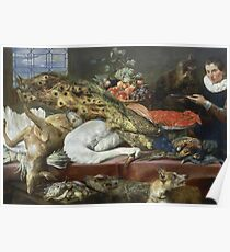 Frans Snyders - Larder With A Servant Poster