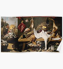 Frans Snyders - Market Scene On A Quaycirca 1635 Poster