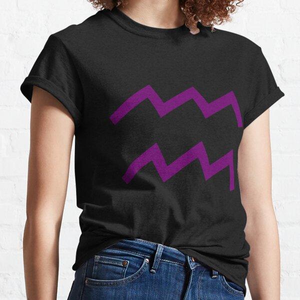 Aquarius Sign Classic T-Shirt