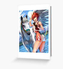 Hinoka - Fire Emblem Fates Greeting Card
