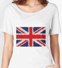 The Union Jack Flag of the United Kingdom Women's Relaxed Fit T-Shirt