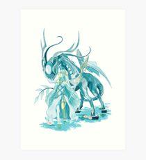 Azura&Corrin -  Fire Emblem Fates Art Print