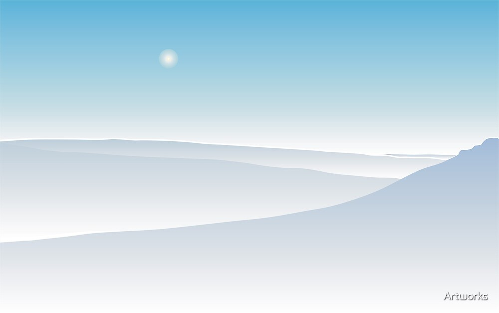 winter landscape by Artworks