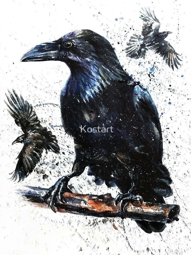 Raven by Kostart