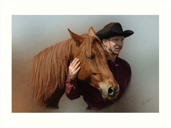 A Man and his Horse by Christine Thomas
