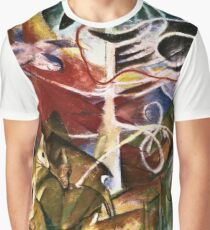 Franz Marc - Deer In The Forest I  Graphic T-Shirt