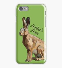 Hattie's Hare - Custom Order Easter iPhone Case/Skin