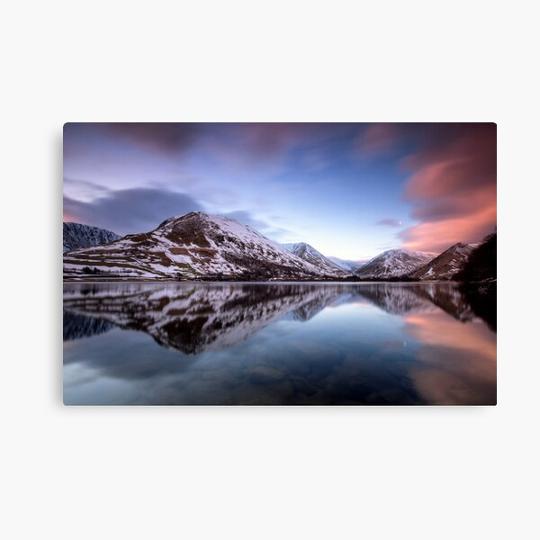 Brothers Water Sunrise Canvas Print
