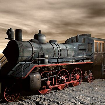 A Train With No Track by ArtisticByNature