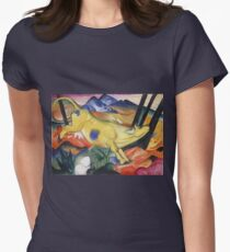 Franz Marc - Yellow Cow  Womens Fitted T-Shirt