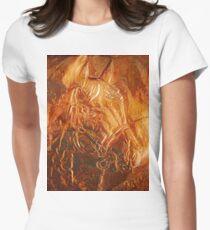 matalic horse  Women's Fitted T-Shirt