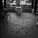 Gritty City 5 - Abandoned altar by Sara Lamond