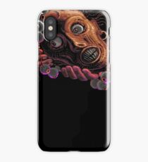 Monkey Island Head of the navigator English iPhone Case