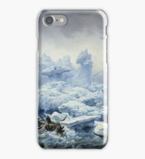 Franсois - Auguste Biard - Fishing For Walrus In The Arctic Ocean iPhone Case/Skin