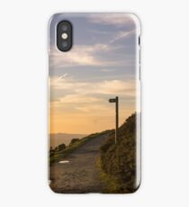 Bend in the path iPhone Case