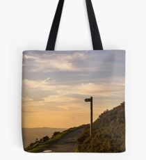 Bend in the path Tote Bag