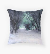Beach Sheoak Throw Pillow