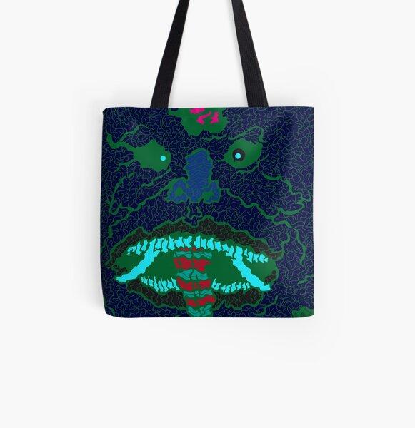 Oni Allover-Print Tote Bag