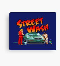 STREET FIGHTER´S NEW JOB Canvas Print