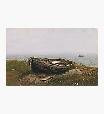 Frederic Edwin Church - Abandoned Skiff Photographic Print