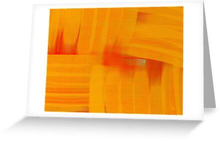Interlaced Orange by Betty Mackey