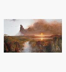 Frederic Edwin Church - Cotopaxi Photographic Print