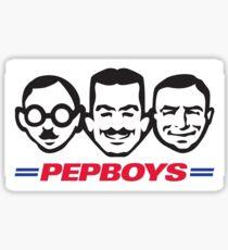 Pep Boys Sticker