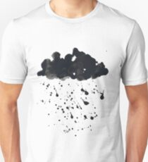 Stormy Black Clouds Version 2 For Earth Day T-Shirt