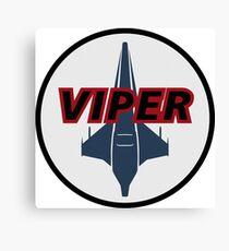 Battlestar Galactica Viper Logo Canvas Print