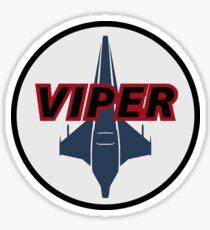 Battlestar Galactica Viper Logo Sticker