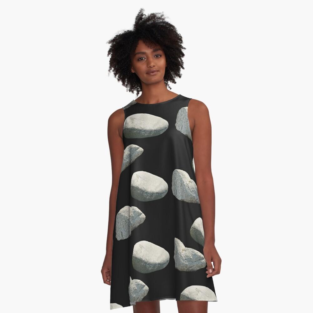 Rock Hard A-Line Dress