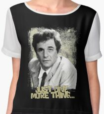 Columbo - TV Series Chiffon Top