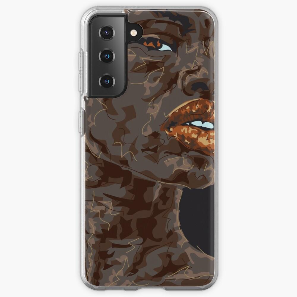Lady Ghana Hülle & Klebefolie für Samsung Galaxy