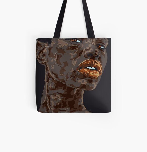 Lady Ghana Allover-Print Tote Bag