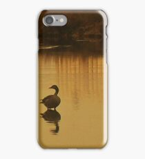 Peace is right here and now iPhone Case/Skin